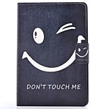 Недорогие -Кейс для Назначение Apple iPad mini 4 iPad Mini 3/2/1 Бумажник для карт со стендом С узором Авто Режим сна / Пробуждение Чехол Слова /