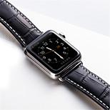 preiswerte -Uhrenarmband für Apple Watch Series 3 / 2 / 1 Apple Schmetterling Schnalle Echtes Leder Handschlaufe