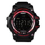 cheap -Sport Watch Heart Rate Monitor Waterproof Pedometers Heart Rate Sensor Pedometer Activity Tracker Sleep Tracker Alarm Clock Bluetooth No