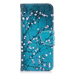 cheap -Case For Huawei Honor 8 Honor 7X Wallet Card Holder with Stand Flip Magnetic Full Body Flower Hard PU Leather for Honor 8 Honor 7X Honor