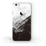 cheap -1 pc Skin Sticker for Scratch Proof Black & White Pattern PVC iPhone 6s/6