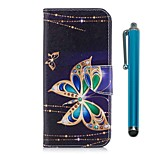 cheap -Case For Huawei Honor 7X Card Holder Wallet with Stand Flip Magnetic Full Body Cases Butterfly Hard PU Leather for Honor 7X Honor 6X