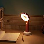 Недорогие -1шт LED Night Light Перезаряжаемый Диммируемая Сенсорный датчик С портом USB прикроватный Встроенная литий-батарея USB слот Теплый белый