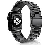 cheap -Watch Band for Apple Watch Series 3 / 2 / 1 Apple Modern Buckle Stainless Steel Wrist Strap