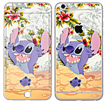 cheap -1 pc Skin Sticker for Scratch Proof Cartoon Pattern PVC iPhone 6s Plus/6 Plus
