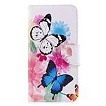 economico -Custodia Per LG V30 Q6 Porta-carte di credito A portafoglio Con supporto Con chiusura magnetica A calamita Integrale Farfalla Resistente