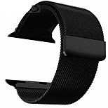 cheap -Watch Band for Apple Watch Series 3 / 2 / 1 Apple Milanese Loop Steel Wrist Strap