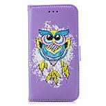 cheap -Case For Xiaomi Redmi Note 4X Redmi 4X Card Holder Flip Pattern Full Body Cases Owl Hard PU Leather for Xiaomi Redmi Note 4X Xiaomi Redmi