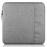 """Недорогие -Рукава Назначение MacBook Air, 11 дюймов Сплошной цвет Ткань """"Оксфорд"""""""