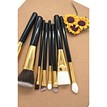 cheap -Makeup Brush Set Nylon Eco-friendly Soft Travel Size Full Coverage Wooden Beech Wood Wood Face
