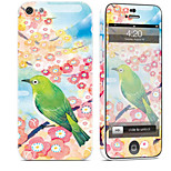 cheap -1 pc Skin Sticker for Scratch Proof Oil Painting Pattern PVC iPhone 5c