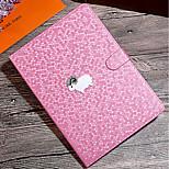 Недорогие -Кейс для Назначение iPad 9.7 (2017) iPad Pro 9.7'' iPad Air 2 iPad mini 4 Защита от удара со стендом С узором Чехол Сплошной цвет Твердый