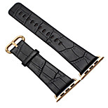 cheap -Watch Band for Apple Watch Series 3 / 2 / 1 Apple Classic Buckle Genuine Leather Wrist Strap