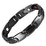 cheap -Men's Chain Bracelet Hologram Bracelet , Magnetic Casual Stainless Steel Circle Jewelry Causal Daily