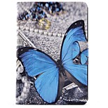cheap -Case For Amazon Kindle Fire hdx 7.0 Card Holder with Stand Flip Pattern Auto Sleep/Wake Up Full Body Cases Butterfly Hard PU Leather for