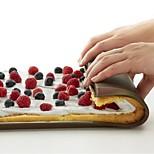 Недорогие -Формы для пирожных Прямоугольный Для Pie Хлеб силикагель Антипригарное покрытие