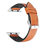 cheap -Watch Band for Apple Watch Series 3 / 2 / 1 Apple Sport Band Classic Buckle Genuine Leather Wrist Strap