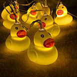 cheap -20 LEDs 3M Small Ducks String Light Warm White USB Powered