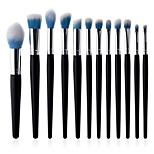 cheap -10-Pack Permanent Makeup Kit Supplies Powder Brush Eyelash Brush Lip Brush Synthetic Hair Eco-friendly Soft Synthetic Full Coverage Beech
