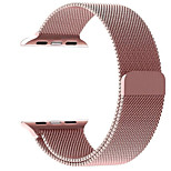 cheap -Watch Band for Apple Watch Series 3 / 2 / 1 Apple Milanese Loop Metal Wrist Strap