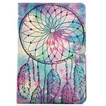 cheap -Case For Apple iPad mini 4 iPad Mini 3/2/1 Card Holder with Stand Pattern Auto Sleep/Wake Up Full Body Cases Dream Catcher Hard PU Leather
