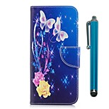 cheap -Case For Xiaomi Redmi 5 Plus Redmi Note 5A Card Holder Wallet with Stand Flip Magnetic Full Body Cases Butterfly Hard PU Leather for