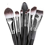 cheap -Makeup Brush Set Synthetic Hair Soft Full Coverage Wooden Eye