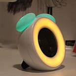 Недорогие -1шт LED Night Light Перезаряжаемый Диммируемая С портом USB Украшение Встроенная литий-батарея USB слот Холодный белый