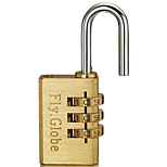 cheap -FQ-320 Padlock Copper for Drawer Gym & Sports Locker Cupboard Luggage
