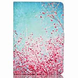 cheap -Case For Apple iPad mini 4 iPad Mini 3/2/1 Card Holder Wallet with Stand Pattern Auto Sleep/Wake Up Full Body Cases Tree Hard PU Leather