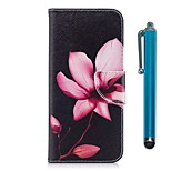 cheap -Case For Huawei Honor 7X Card Holder Wallet with Stand Flip Magnetic Full Body Cases Flower Hard PU Leather for Honor 7X Honor 6X