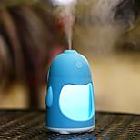 abordables -1pc LED Night Light Changement de couleur 7 Port USB Capteur tactile Décoration Humidifié Avec port USB Couleurs changeantes