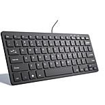 Недорогие -USB Механическая клавиатура Тонкий Для Bluetooth