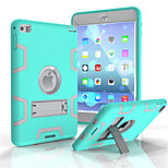 cheap -Case For Apple Card Holder Wallet Shockproof with Stand Full Body Cases Cartoon Soft PC for iPad 4/3/2