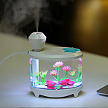 cheap -1pc LED Night Light Warm White USB Port Waterproof Decoration Humidified with USB Port