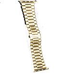 cheap -Watch Band for Apple Watch Series 3 / 2 / 1 Apple Butterfly Buckle Steel Wrist Strap