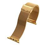 abordables -Ver Banda para Apple Watch Series 3 / 2 / 1 Apple Hebilla Moderna Metal Correa de Muñeca