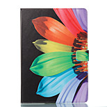 cheap -Case For Apple iPad 10.5 iPad (2017) Wallet with Stand Flip Pattern Auto Sleep/Wake Up Full Body Cases Flower Hard PU Leather for iPad