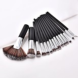 cheap -2pcs Makeup Brush Set Others Synthetic Hair Full Coverage Beech Wood Eye Face Nose