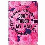 abordables -Funda Para Apple iPad mini 4 iPad Mini 3/2/1 Soporte de Coche Cartera con Soporte Diseños Activación al abrir/Reposo al cerrar Funda de