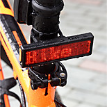 cheap -DIY Bicycle Taillight Programmable LED Electronic Multilingual Advertising Display Bicycle TailLight USB