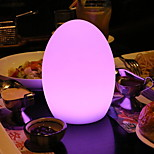 cheap -1pc LED Night Light Remote control 7-Color Built-in Li-Battery Powered USB Port Remote Controlled Rechargeable Decoration with USB Port