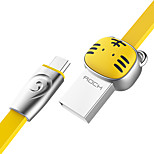 cheap -Micro USB USB Cable Adapter Quick Charge Cable For Samsung Huawei LG Nokia Lenovo Motorola Xiaomi HTC Sony 100 cm Zinc Alloy