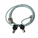 cheap -laptop lock computer burglar key lock wire with 120cm cable
