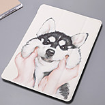 cheap -Case For Apple iPad Air 2 iPad mini 4 iPad (2017) Card Holder Wallet with Stand Pattern Auto Sleep/Wake Up Cartoon Hard PU Leather for