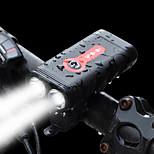 Недорогие -Передняя фара для велосипеда Светодиодная лампа LED Велоспорт С быстрой зарядкой 2.0 Перезаряжаемая батарея 1200 Люмен Встроенная