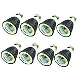 cheap -8pcs 7W 550 lm E14 E26/E27 LED Spotlight 1 leds COB Decorative Warm White Cold White 220-240V