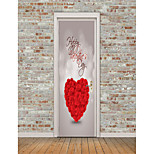 cheap -Shapes Hearts Wall Stickers Plane Wall Stickers 3D Wall Stickers Decorative Wall Stickers, Vinyl Home Decoration Wall Decal Fridge Wall