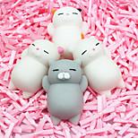 Недорогие -Резиновые игрушки Кошка Товары для офиса Стресс и тревога помощи Декомпрессионные игрушки Животные Взрослые