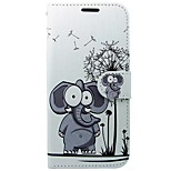 cheap -Case For Huawei P8 Lite (2017) Card Holder Wallet with Stand Flip Full Body Cases Elephant Cartoon Animal Hard PU Leather for P8 Lite